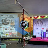 Top Multimedia at Jogja Outdoor Show