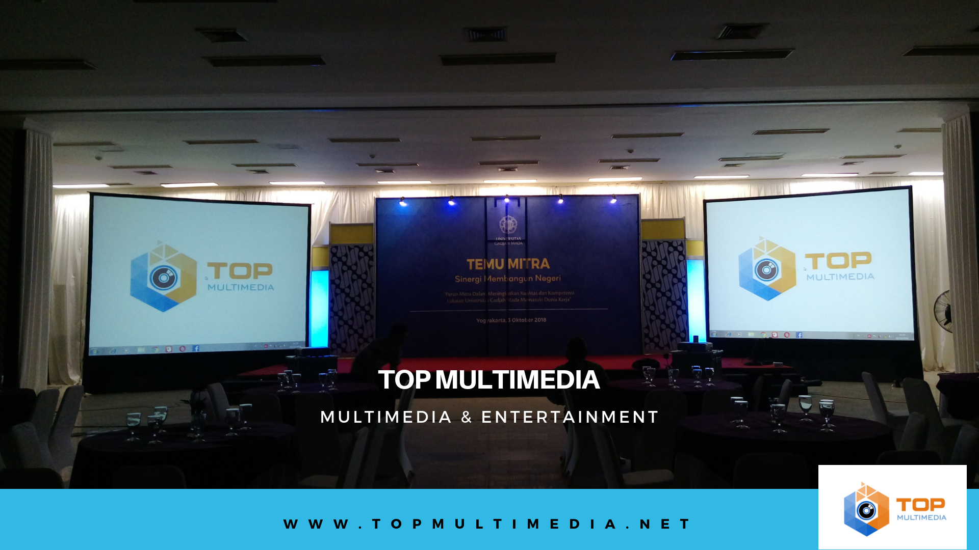 Kelebihan Sewa Proyektor dan Screen di Top Multimedia